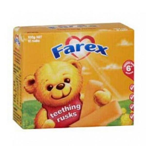 farex teething rusks 磨牙饼干